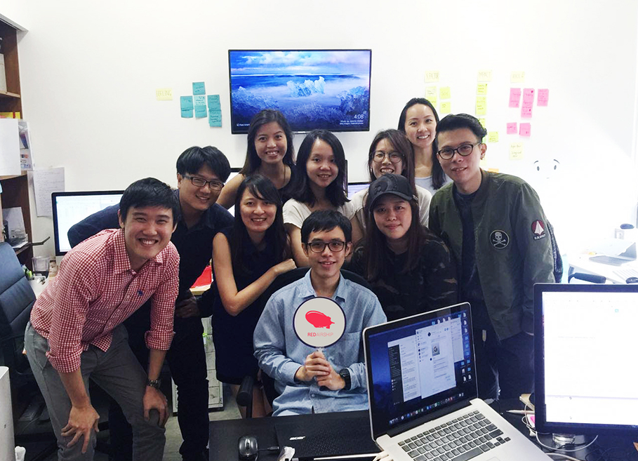Yong Xue's Developer Internship at Red Airship